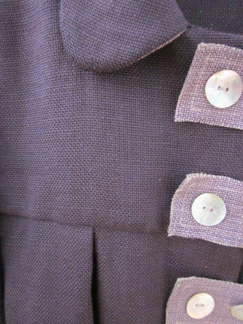 manteau en lin prune et parme (5)
