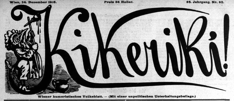 kikeriki 1916