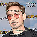 Robert Downey jr - acteur , usurpé