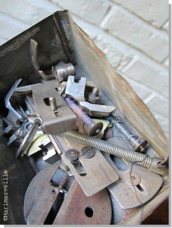 boîte à outils machine