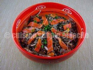 salade lentilles saumon 04