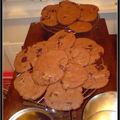 Les cookies tres choco pour Coralie