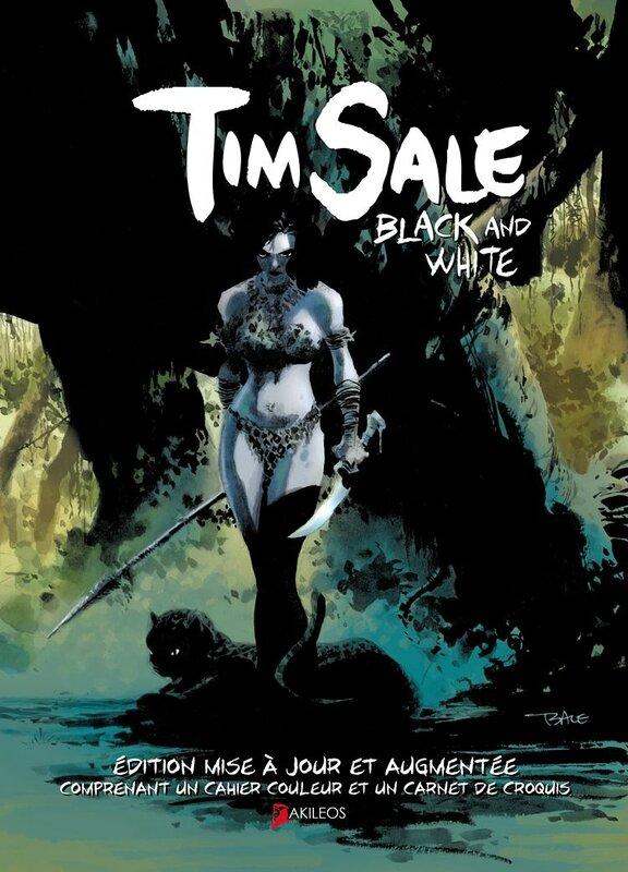 Akileos : Tim Sale Black & white artbook