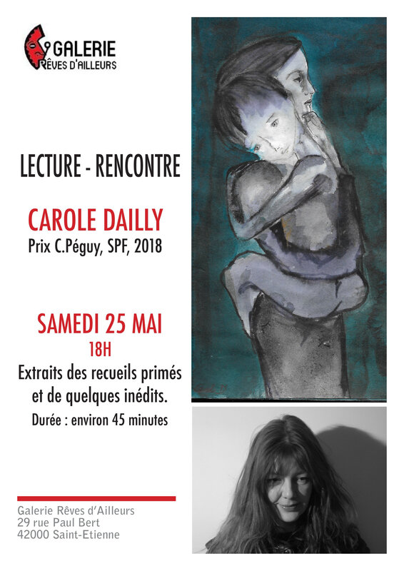 Affiche Carole Dailly