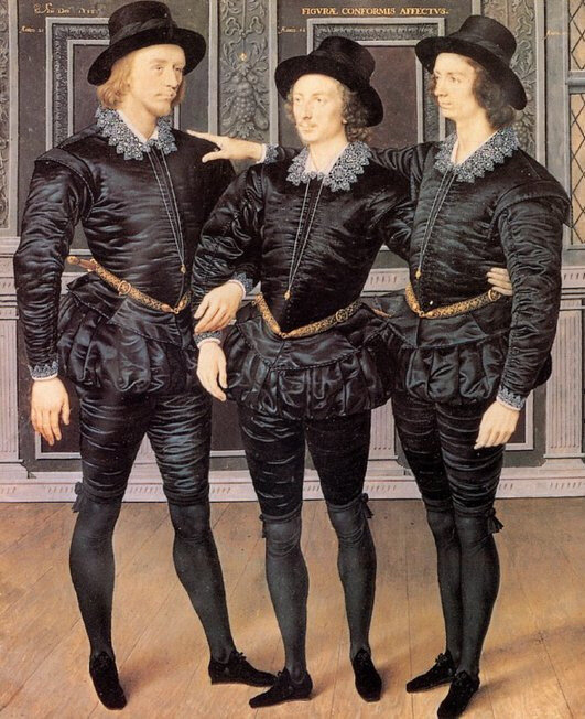 The Browne Brothers - 1598, Isaac Oliver