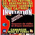8ème festival des cultures taurines de castries 2016