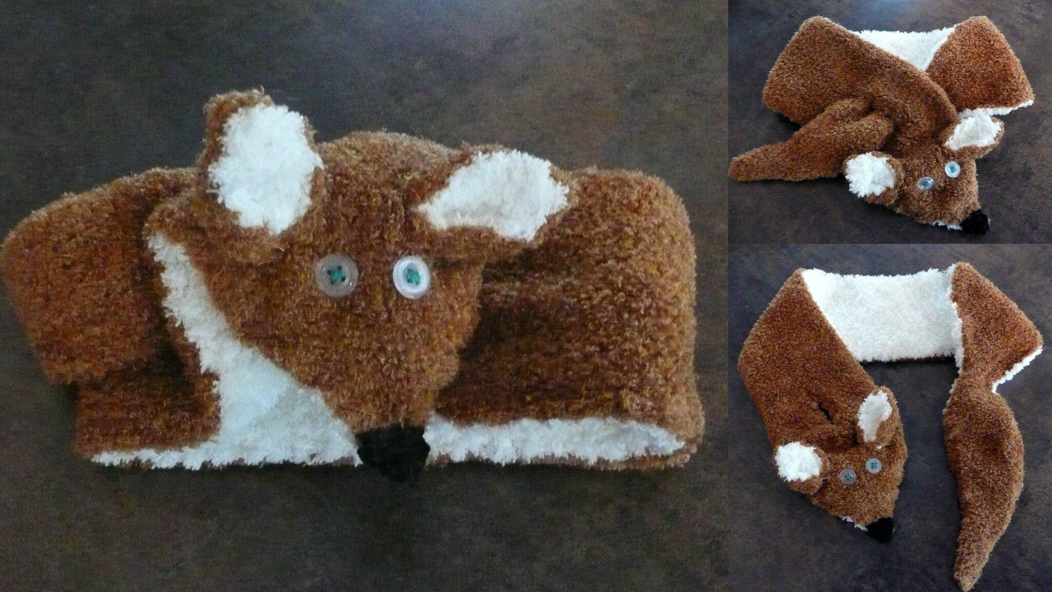 écharpe renard