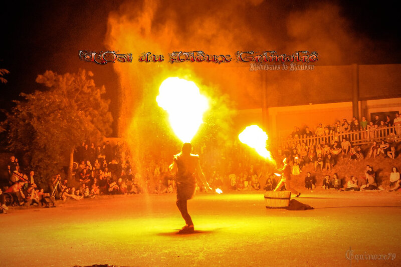 Les flammes de sorcière - Médiévales de Mauléon