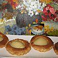 Tartelettes poire amande pâte maison pour l'epiphanie