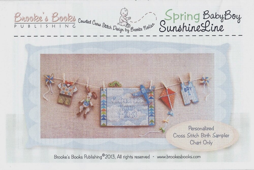 Brooke's Books Spring Baby Boy Sunshine Line