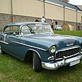 CHEVROLET Bel Air 2door hardtop 1955 Créhange (1)