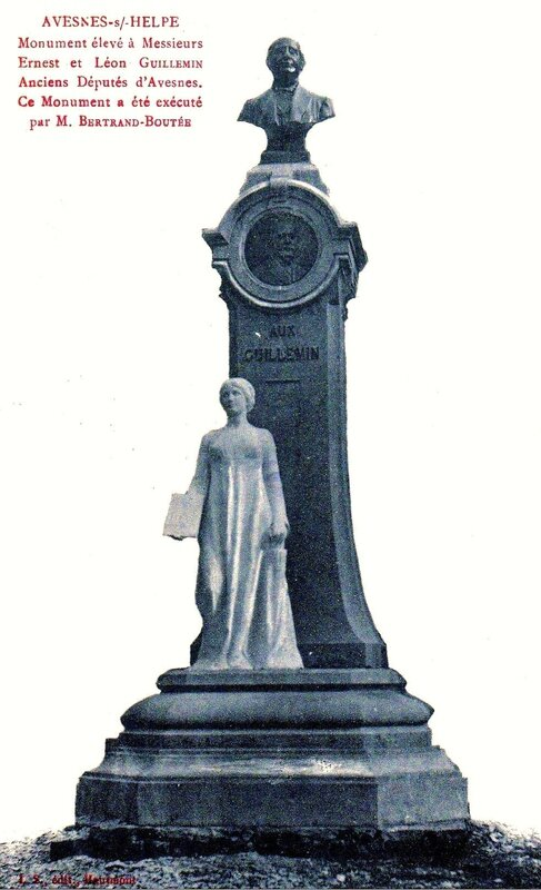 AVESNES-Monument Guillemin