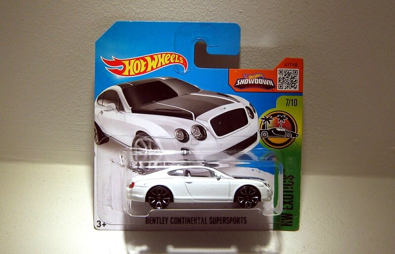 Bentley continental supersports (Hotwheels 2016)