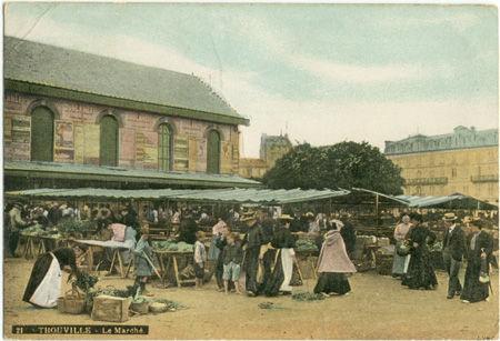 14 - TROUVILLE - Le Marché
