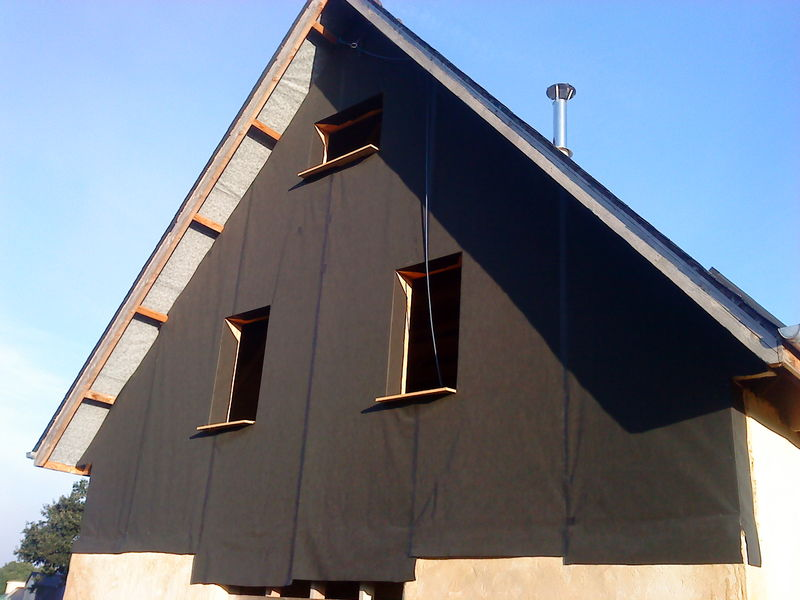 pose bardage bois avec pare pluie nj76 humatraffin. Black Bedroom Furniture Sets. Home Design Ideas