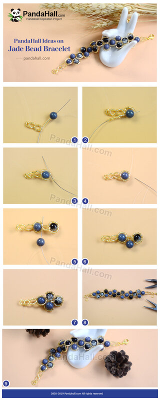 1-PandaHall Ideas on Jade Bead Bracelet