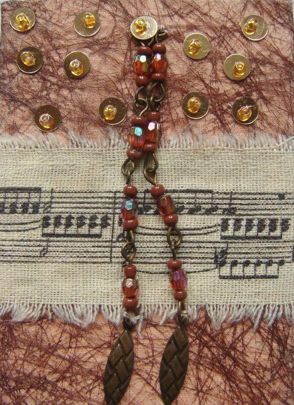 reçue de Mba (Textile musique)