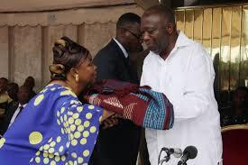 LE PRÉSIDENT LAURENT GBAGBO : JE SUIS VENU VOUS DEMANDER DE TRAVAILLER A LA RÉSURRECTION DE LA CÔTE D'IVOIRE.