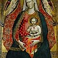 Giovanni, dal ponte (1385 - 1437/8), madonna and child with angels, 1410s