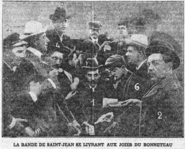 François Albertini (1) avec une partie de la bande des 21