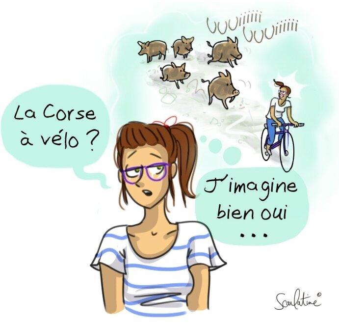 La Corse à vélo
