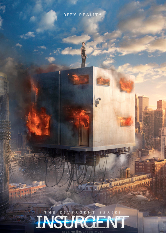 Insurgent Defy Reality poster