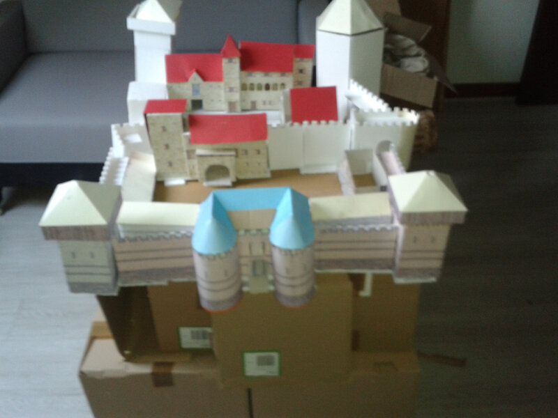 Structure chateau 3