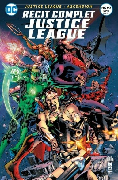 récit complet justice league hs 02 JLA ascension