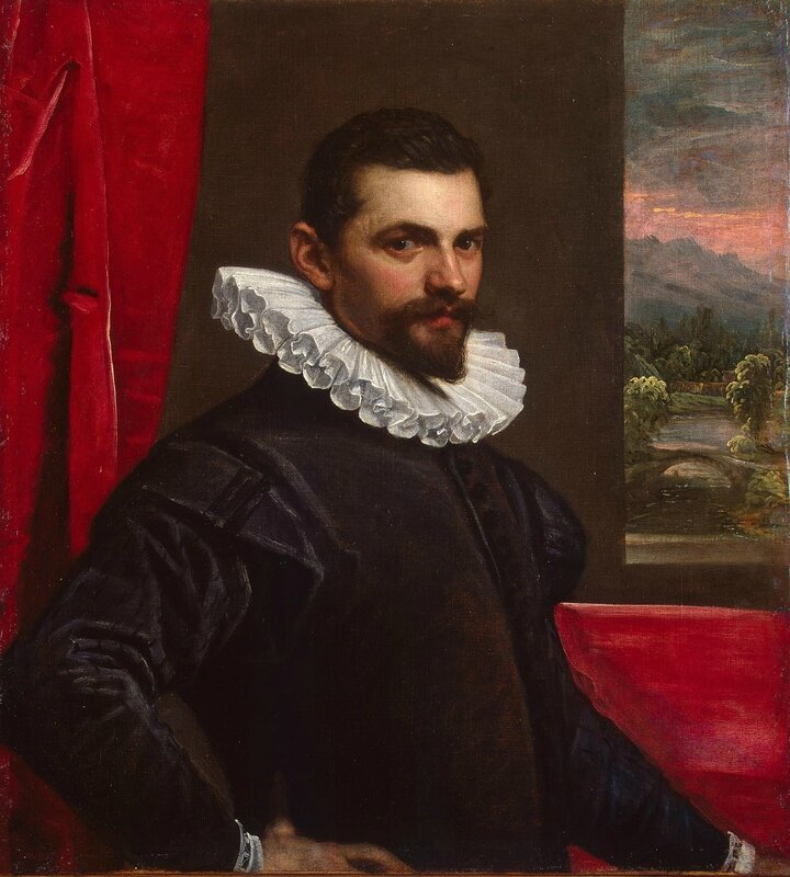Domenico Tintoretto, Portrait of a Man, between 1586 and 1589, Hermitage