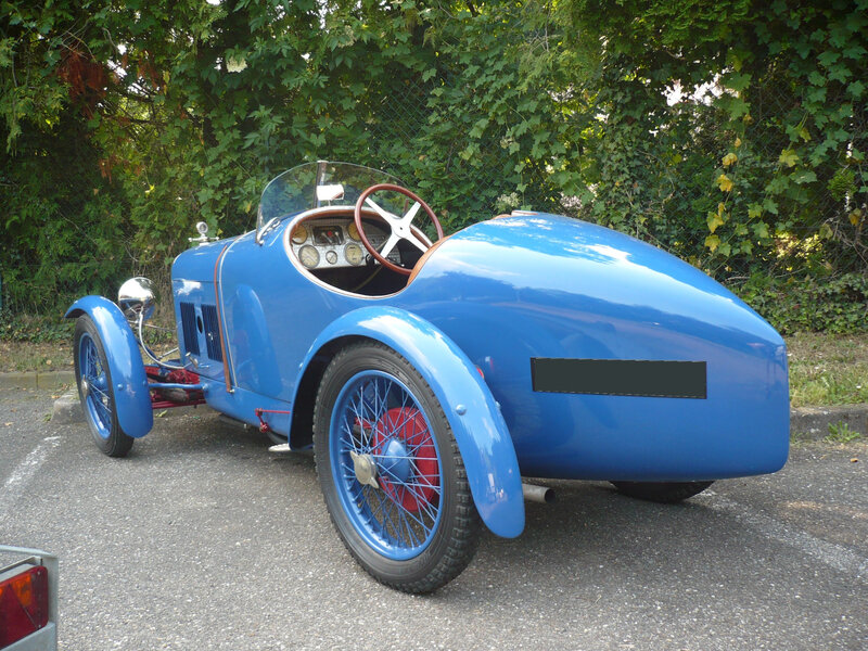 AMILCAR CGSS biplace sport 1927 Klingenthal (2)