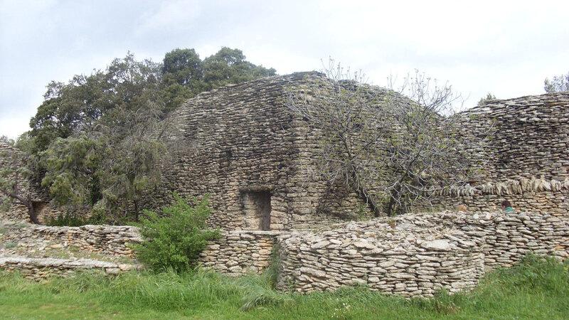 Le village des bories à Gordes