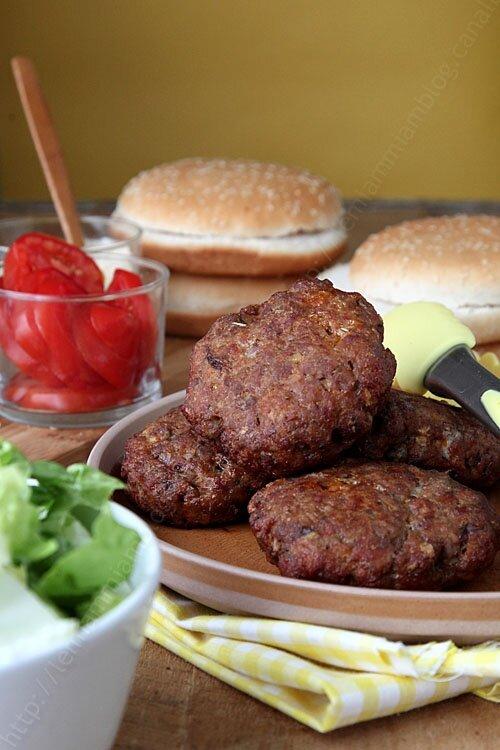 recette de steak hache hamburger maison 02 LE MIAM MIAM BLOG 2246