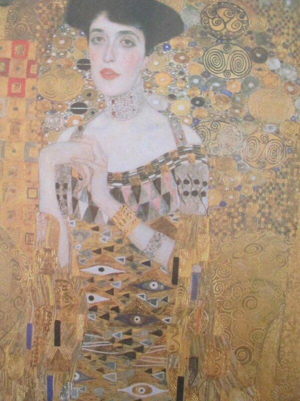 Portrait d'Adèle Bloch- Bauer 1907 détail