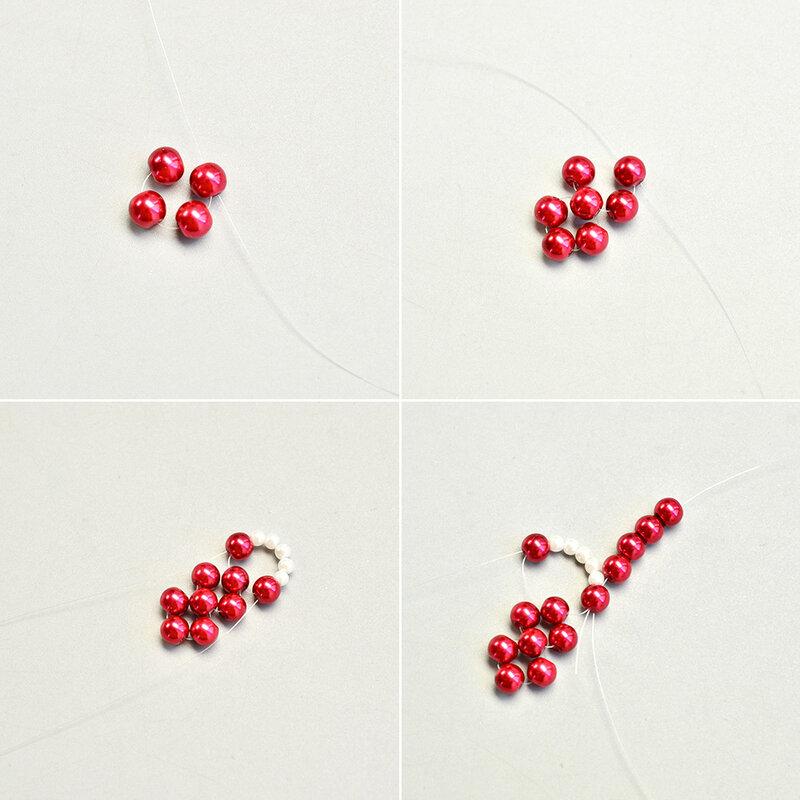 collier avec les perles en verre1
