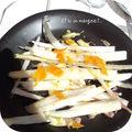 Salade d'asperges crues
