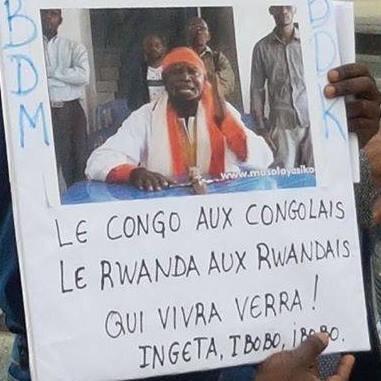 LE CONGO AUX CONGOLAIS LE RUANDA AUX RUANDAIS A DIT NE MAVUEMBA NKOSI