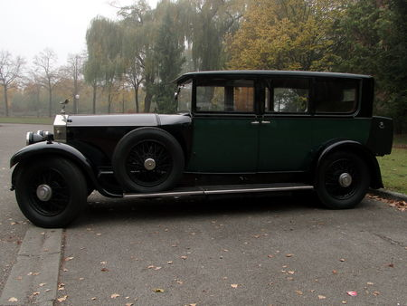 ROLLS ROYCE Phantom I Hooper 1929 Retrorencard 3