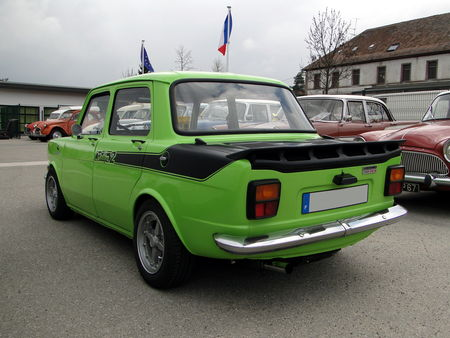 SIMCA 1000 Rallye 2 1972 1977 Bourse Echanges Autos Motos de Chatenois 2010 2