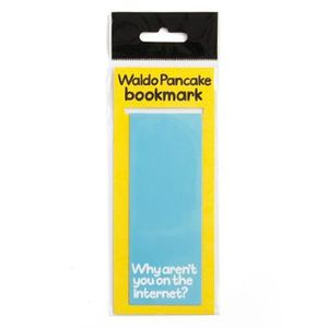 waldo pancake bookmark