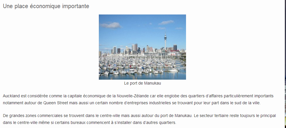 AUCKLAND - HISTOIRE 5