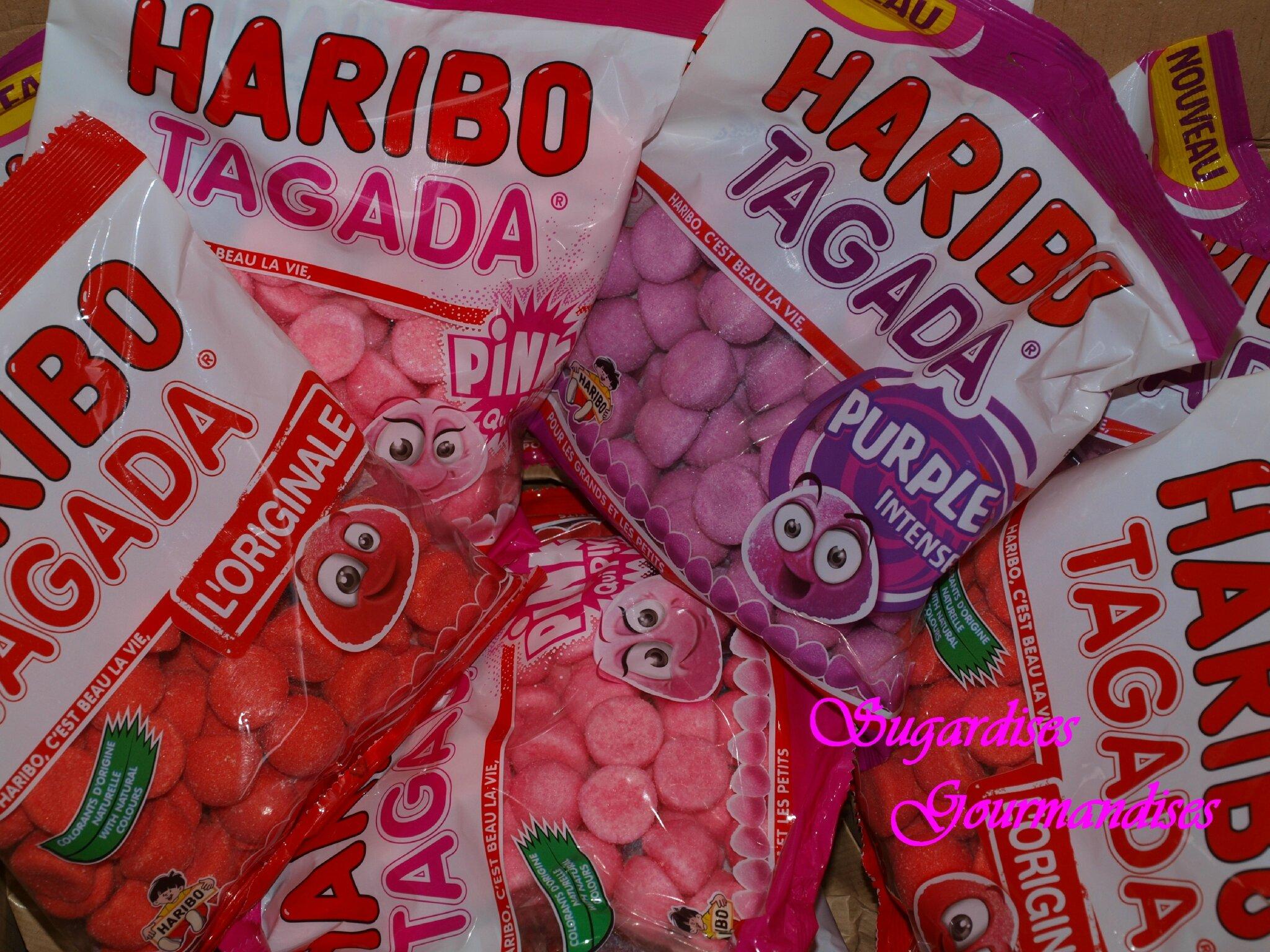 HARIBO mon nouveau partenariat allez les TAGADA ramenez vos fraises...