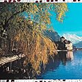 Chateau de Chillon datée 1982