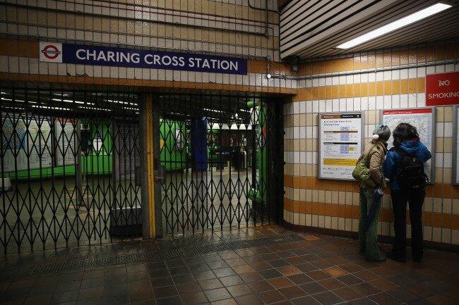 Tube strike london 2014 15