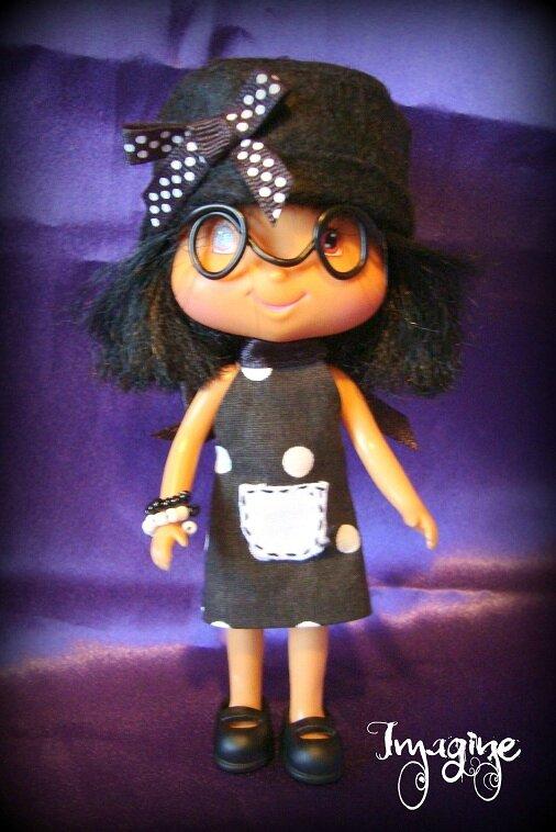 poupée vintage customisée PETRONILLE