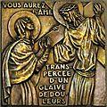 Chemin de croix, station IV Louis Delamare
