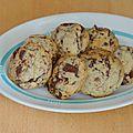 Cookies noix de coco et chocolat [vegan]