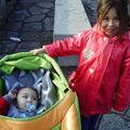 les enfants dans le jardin à monaco
