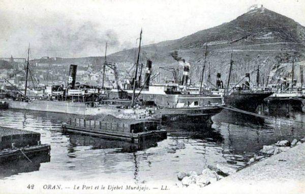 Oran- 008- travail sur les quais