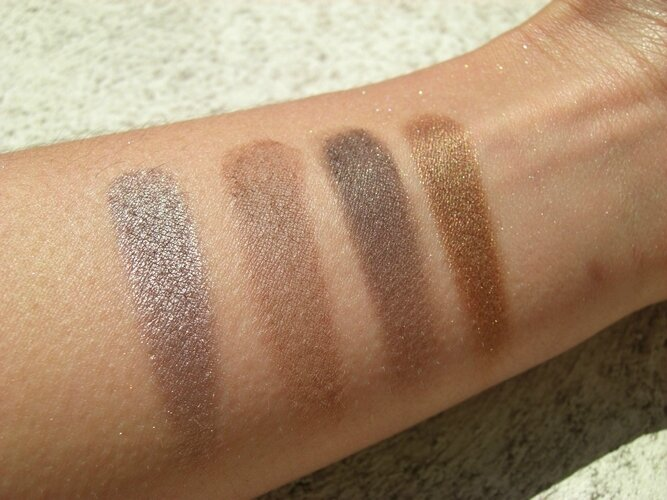 Nude'tude the balm palette princesse affreuse swatches (2)