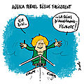 Angela merkel facilement réélue en allemagne